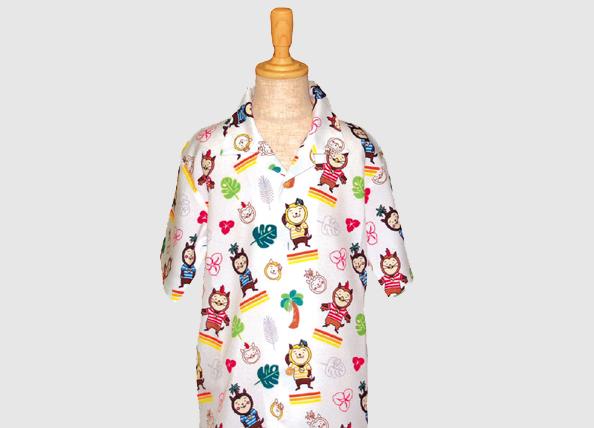 みやざき犬Jr.用アロハシャツ
